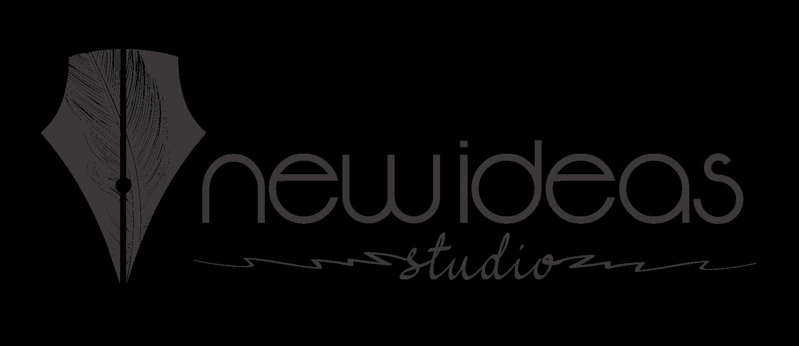 kreativne pero online marketingu   new ideas logo