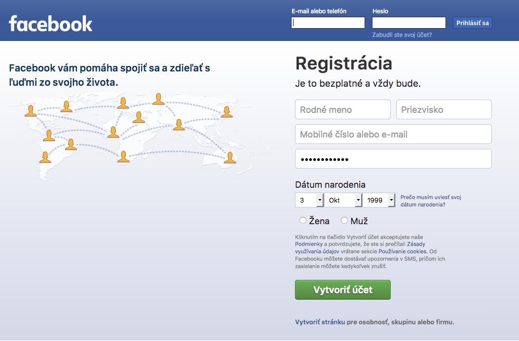 Zakladáme firemnú Facebook stránku